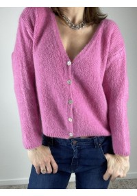 Gilet COCOON rose NC - 1